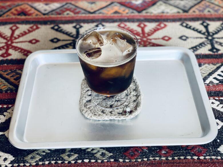 コーヒーと炭酸8:2