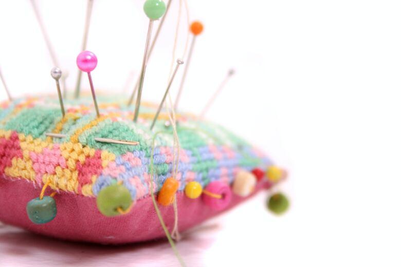 9. 「針刺し(ピンクッション)を作る」