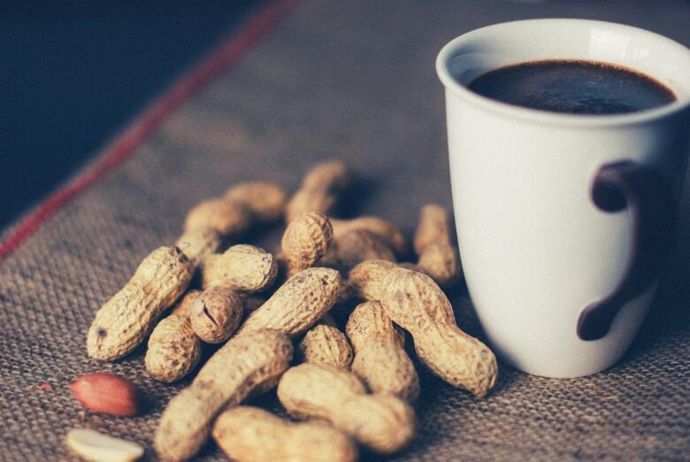 コーヒーピーナッツはおやつに最適!