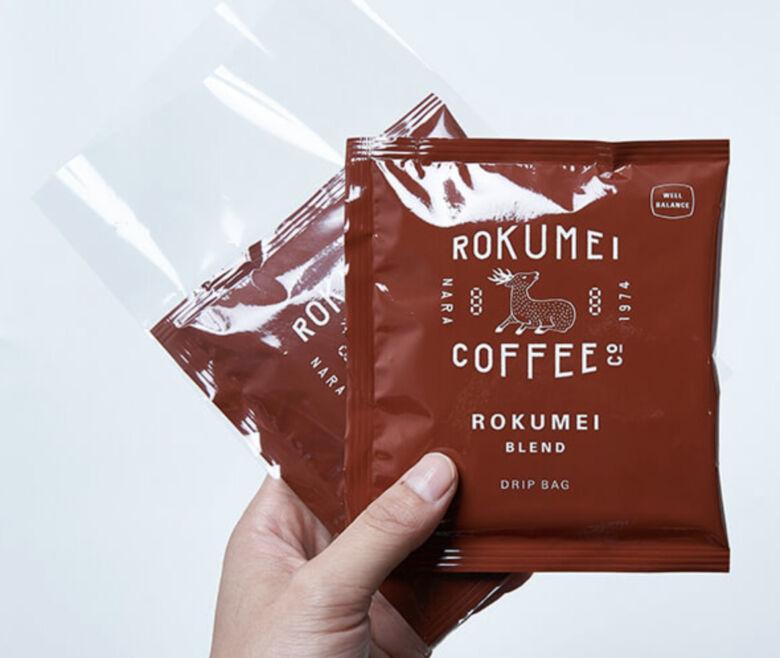 ロクメイコーヒー プチギフト ドリップバッグ 2pcs