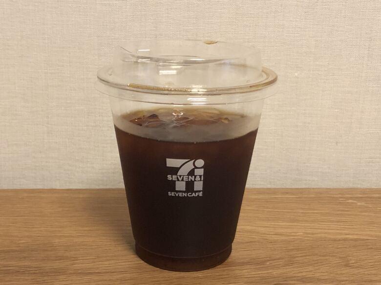 セブンイレブンのアイスコーヒーの値段・量