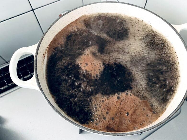 10分程度煮立てる