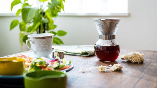 ステンレスフィルターでのコーヒーの入れ方【挽き方や分量も解説】