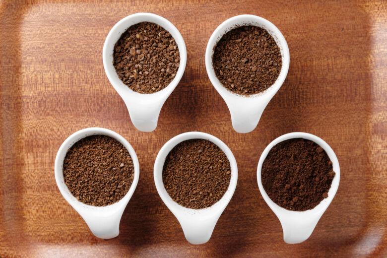 コーヒー豆の挽き方の種類!粗挽きの他にもある