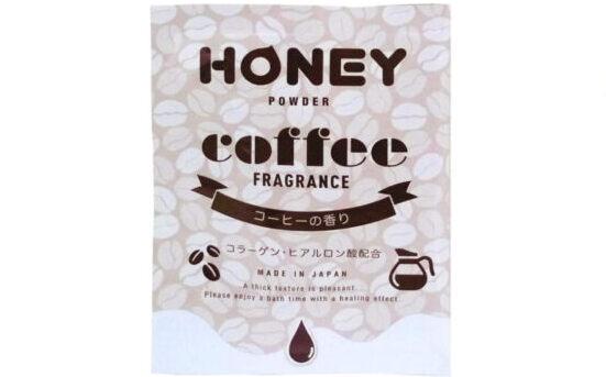 とろとろ入浴剤honey powder コーヒーの香り