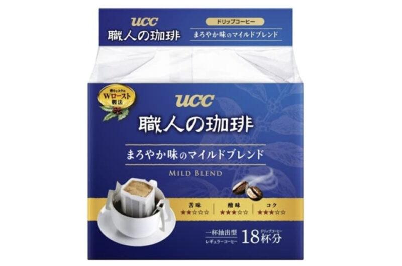 UCC 職人の珈琲ドリップコーヒー まろやか味のマイルドブレンド