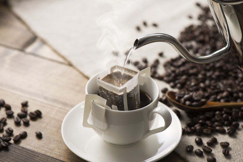 ドリップバッグコーヒーの美味しい作り方・淹れ方